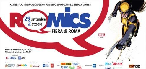 Locandina Romics 2016