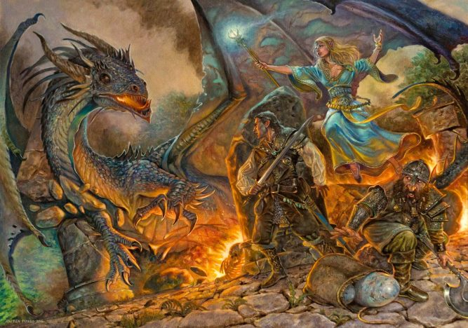 The adventures la lotta del drago