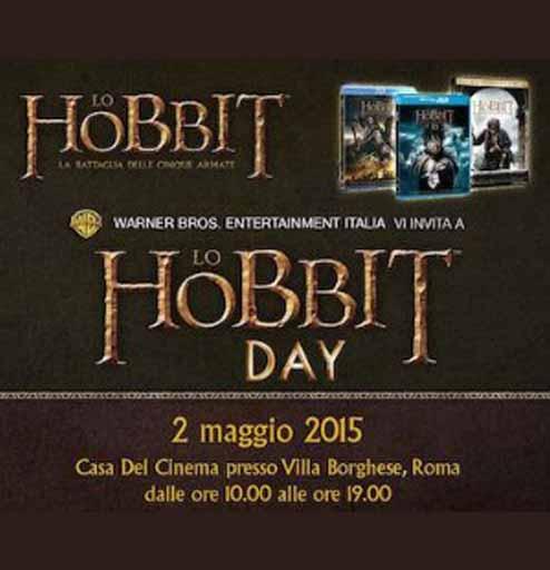 Locandina Lo Hobbit Day