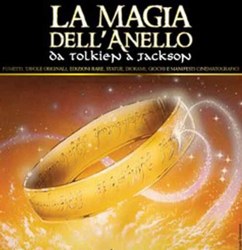 Andrea Piparo in mostra con LA MAGIA DELL'ANELLO