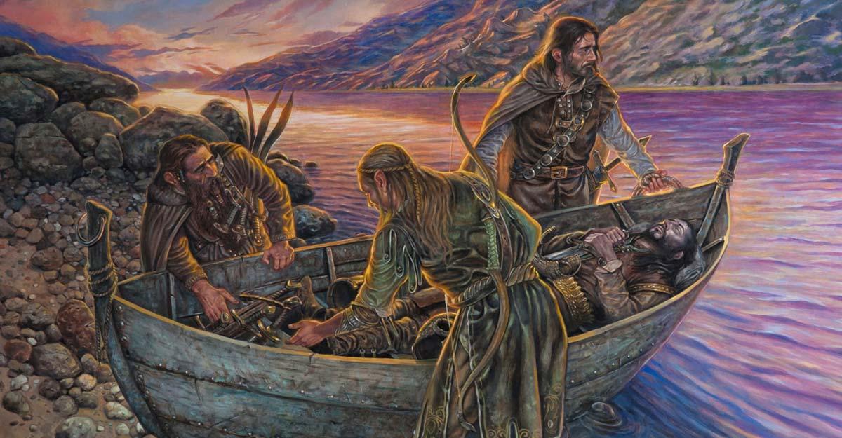 Addio di Boromir, Il Signore degli Anelli