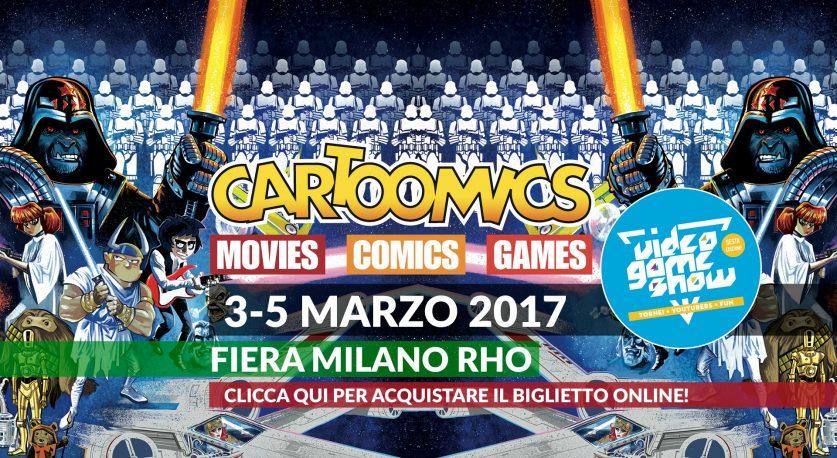 Locandina Cartoomics 2017