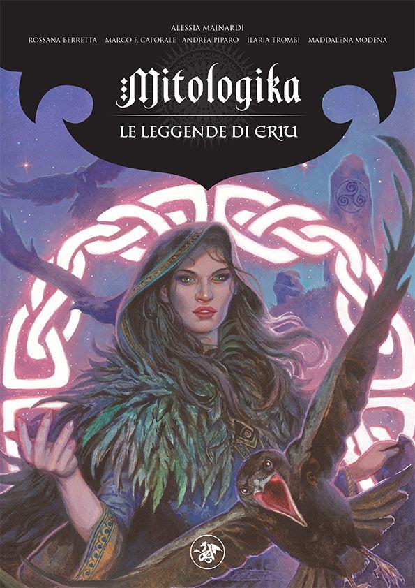 Illustrazione della divinità Morrigan
