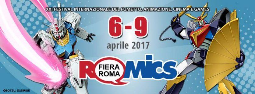 Romics 2017 locandina