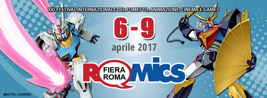 Andrea Piparo ROMICS 2017