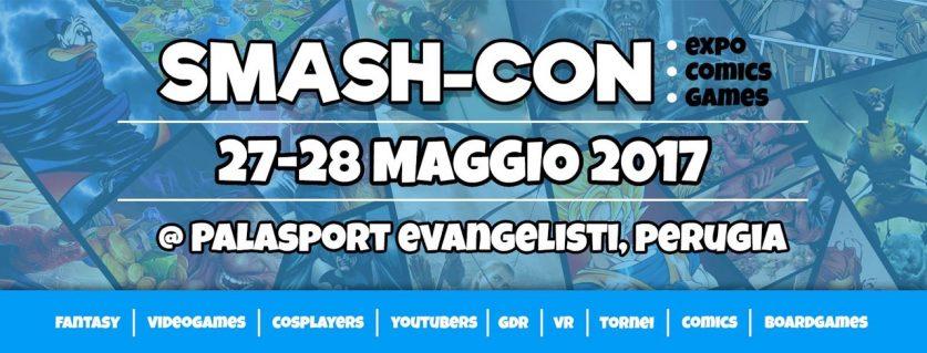 Locandina Smash Con 2017