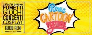 Roma Cartoon Festival invito Andrea Piparo