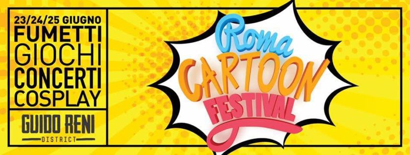locandina roma cartoon festival 2017