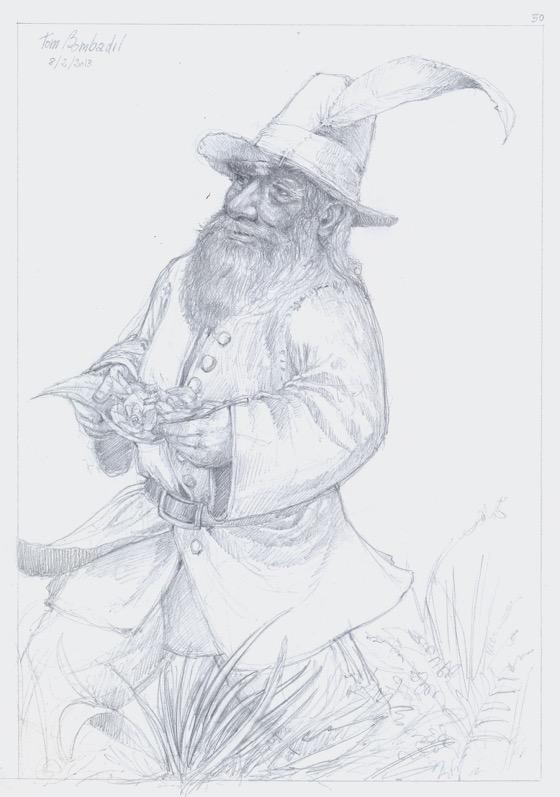 Tom Bombadil disegno