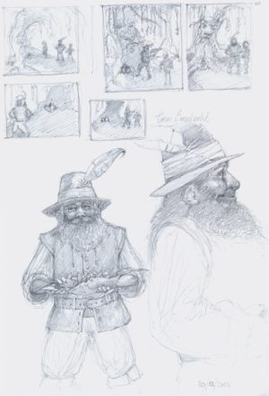 Tom Bombadil sketch 2012