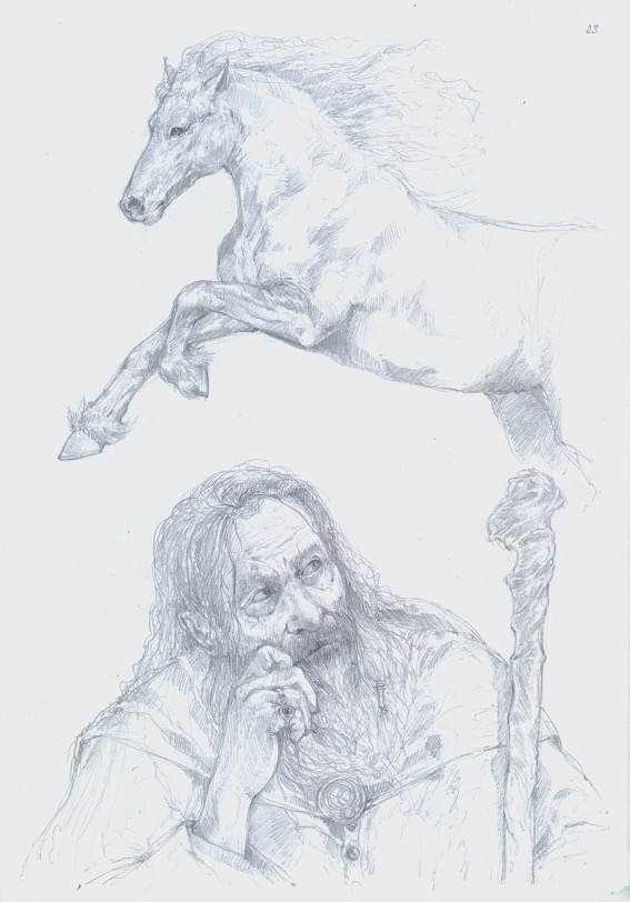 Bozzetto Gandalf