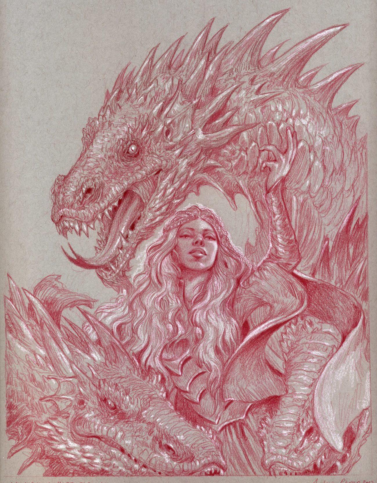 Daenerys Targaryen drago