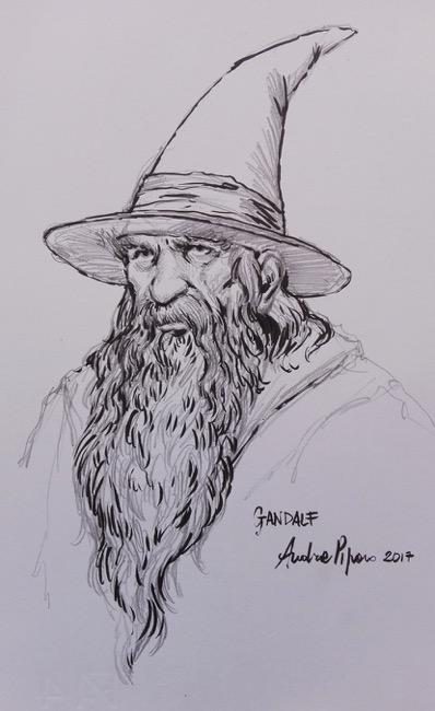 Gandalf Chimera Comix