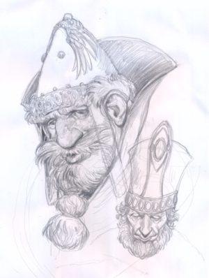 Sketch CHIMERA COMIX 2017