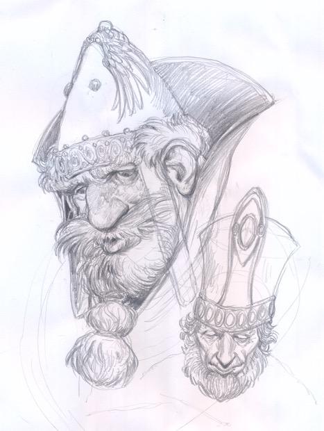 Disegno Chimera Comix