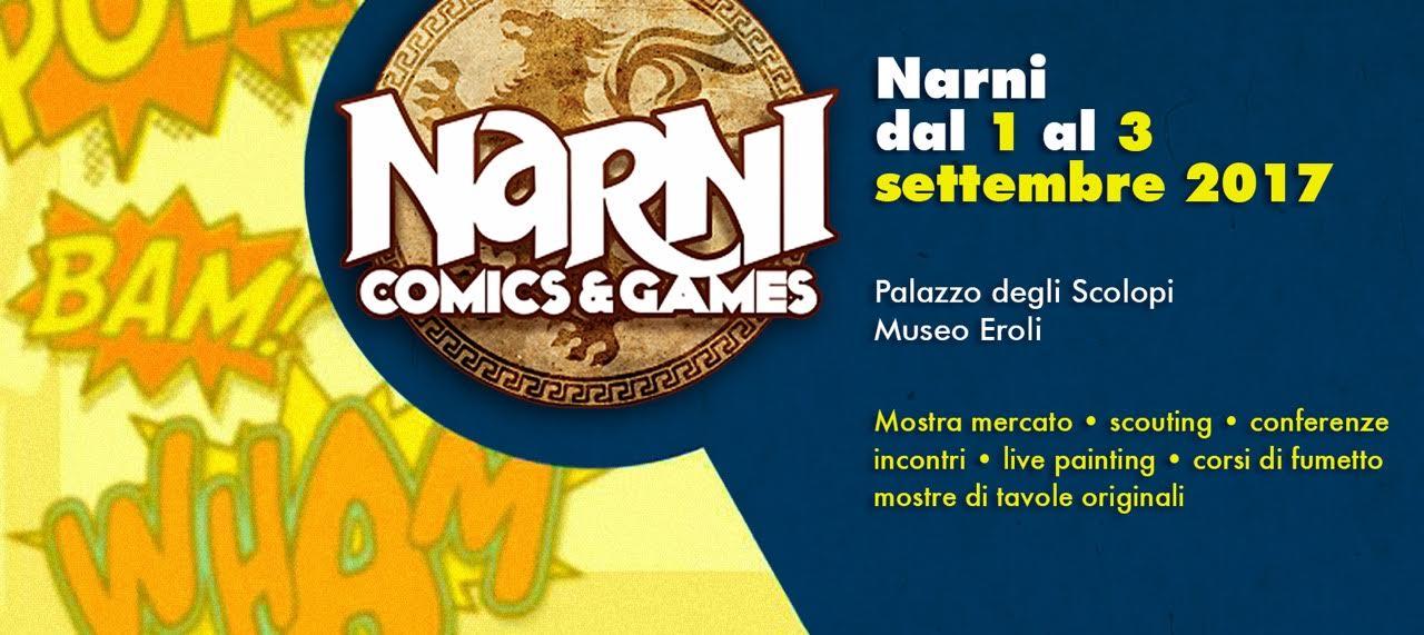 Andrea Piparo al NARNI COMICS 2017