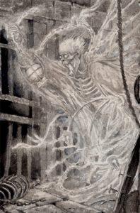 Geist sketch 2017 particolare