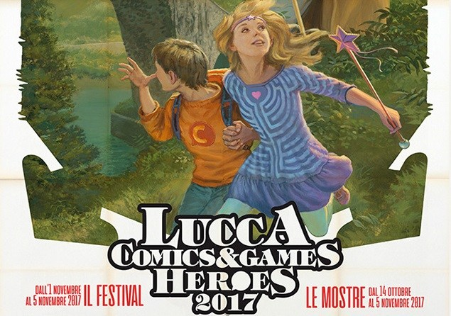 Andrea Piparo a LUCCA COMICS & GAMES