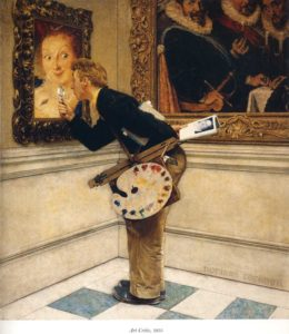 Norman-Rockwell-art-critic