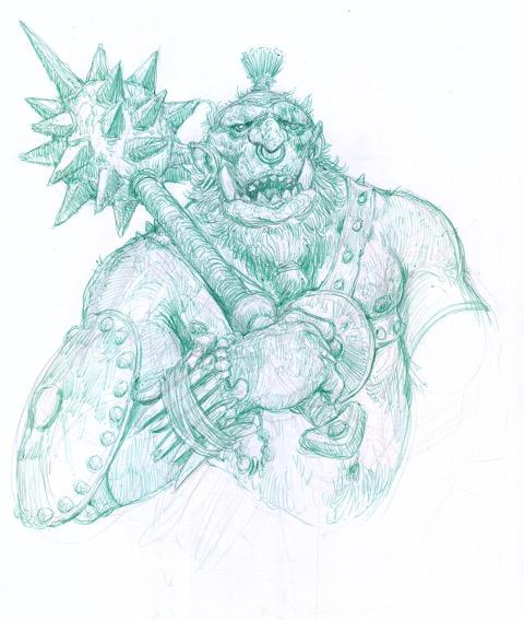 Lucca Comics 2017 Sketch