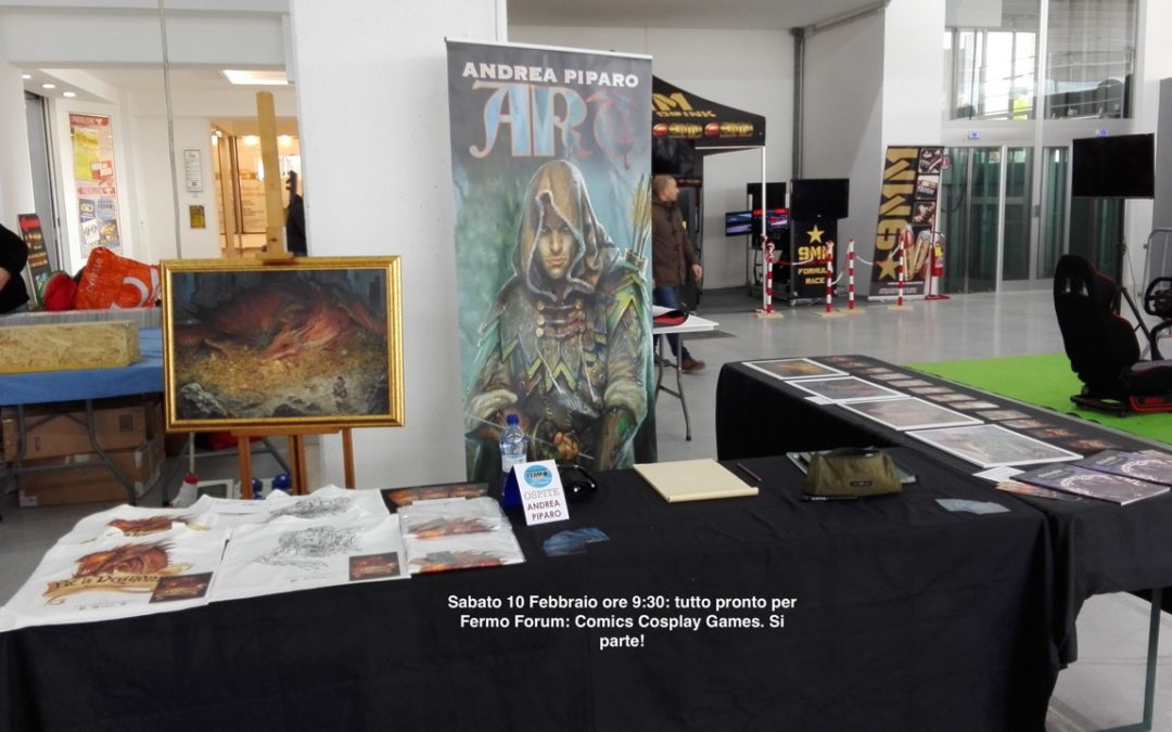 FERMO FORUM: COMICS COSPLAY GAMES