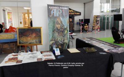 FERMO FORUM: COMICS COSPLAY GAMES