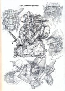 goblin sketch 4 copia