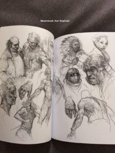 sketch- varie