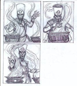 sketch thot amon