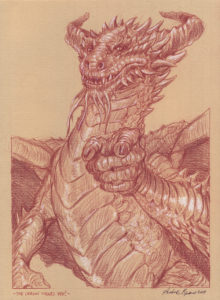 Andrea Piparo art illustratore fantasy the dragon wants you!