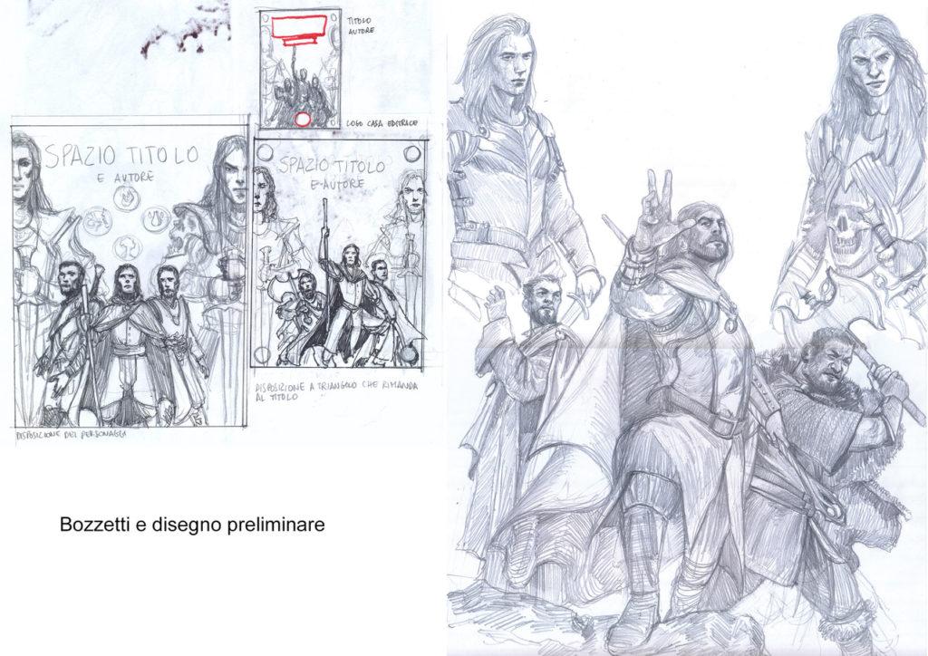Bozza disegno Selestar Saga