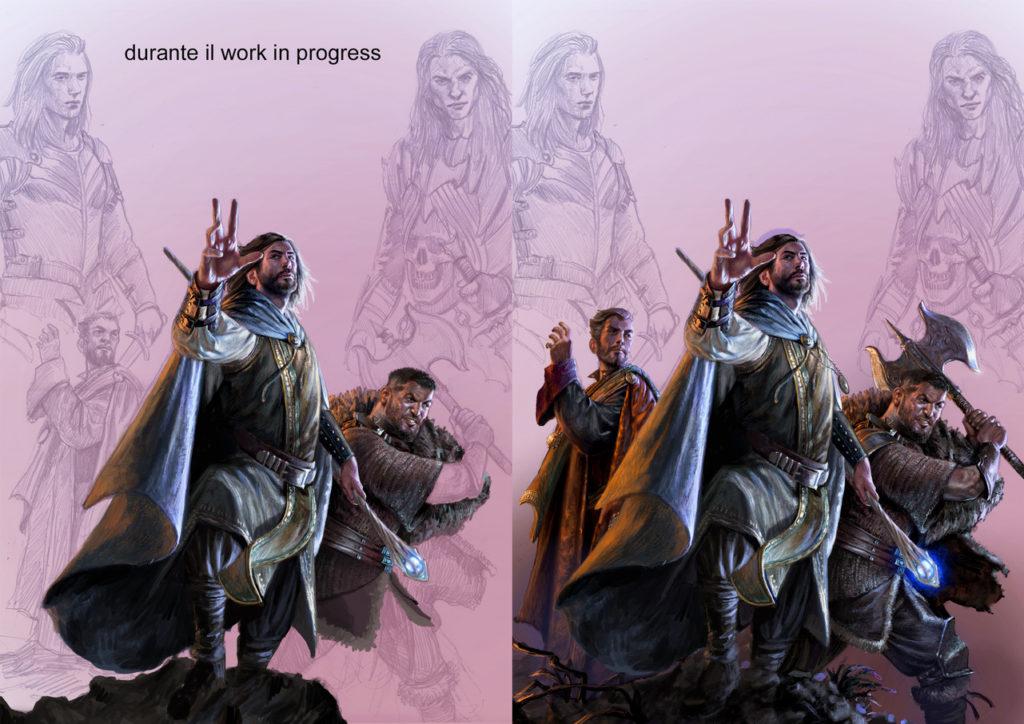 Disegno selestar saga fantasy