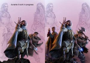 Andrea Piparo Art illustratore fantasy selestar saga