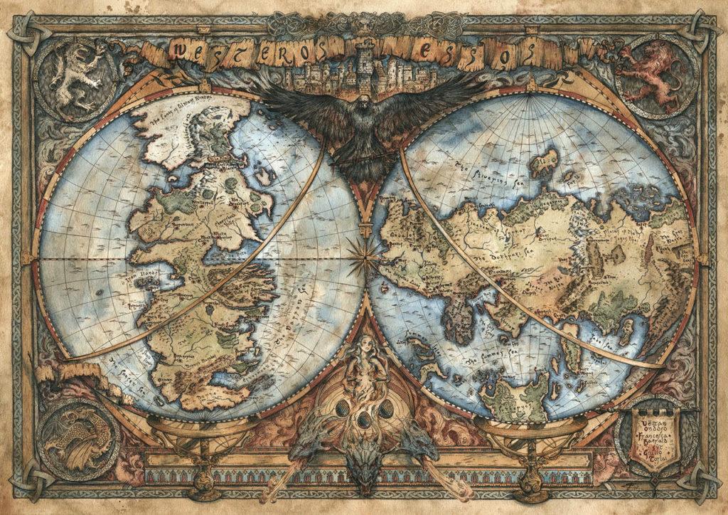 Francesca Baerald mappe fantasy