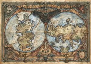 Andrea piparo art illustratore mappe fantasy
