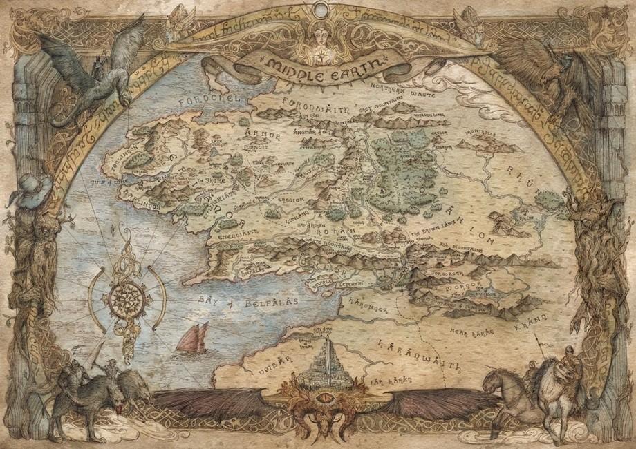 Francesca Baerald illustratrice mappe fantasy