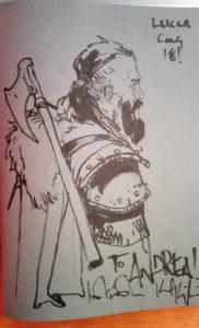andrea piparo art illustratore fantasy sketch kopinski
