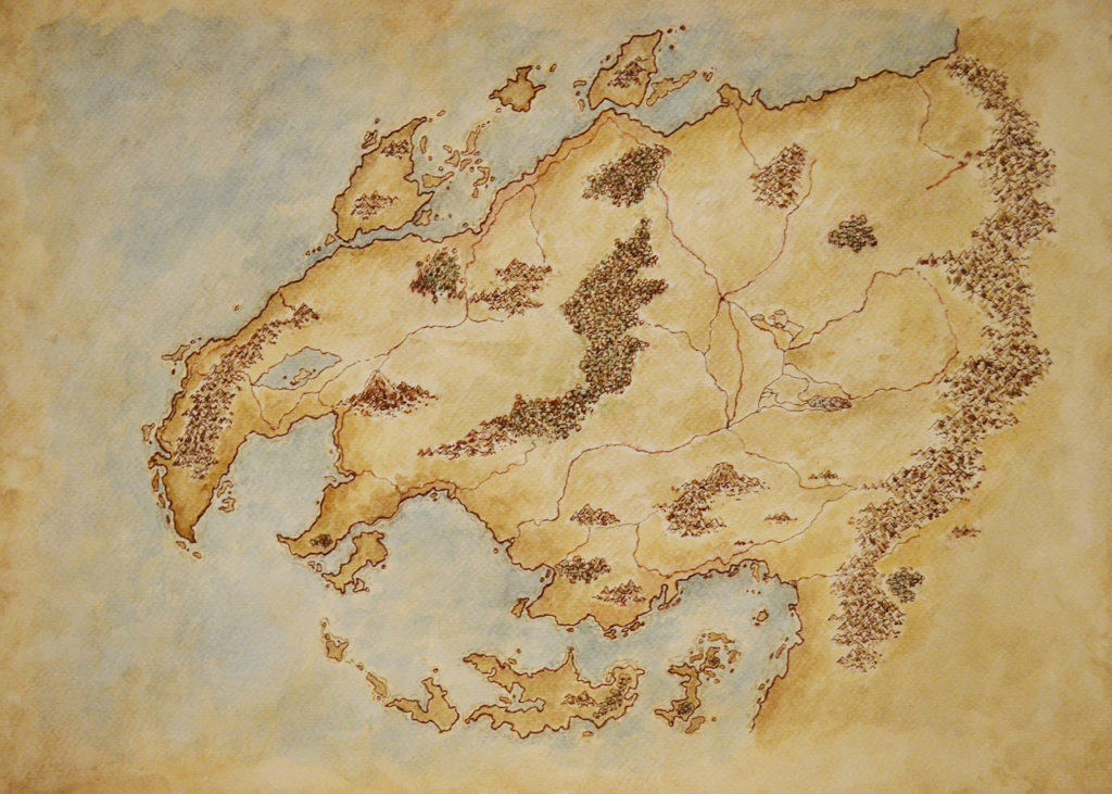 Mappe fantasy Seles
