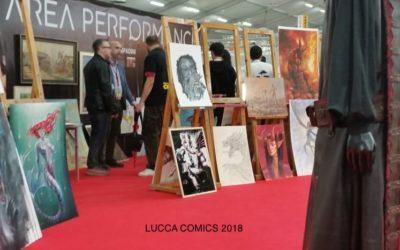 LUCCA COMICS 2018 – PRIMA ESPERIENZA IN AREA PERFORMANCE