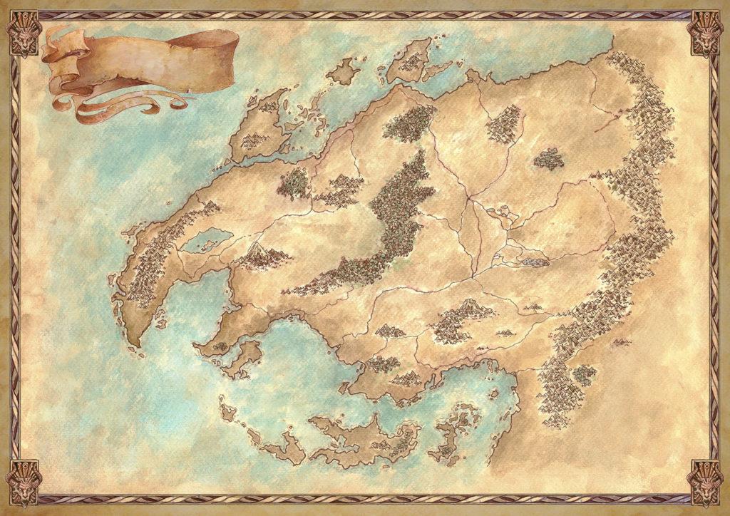mappe fantasy selestar saga