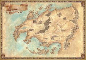 mappa Selestar