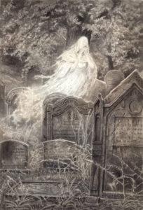 andrea piparo art fantasmi La dama bianca