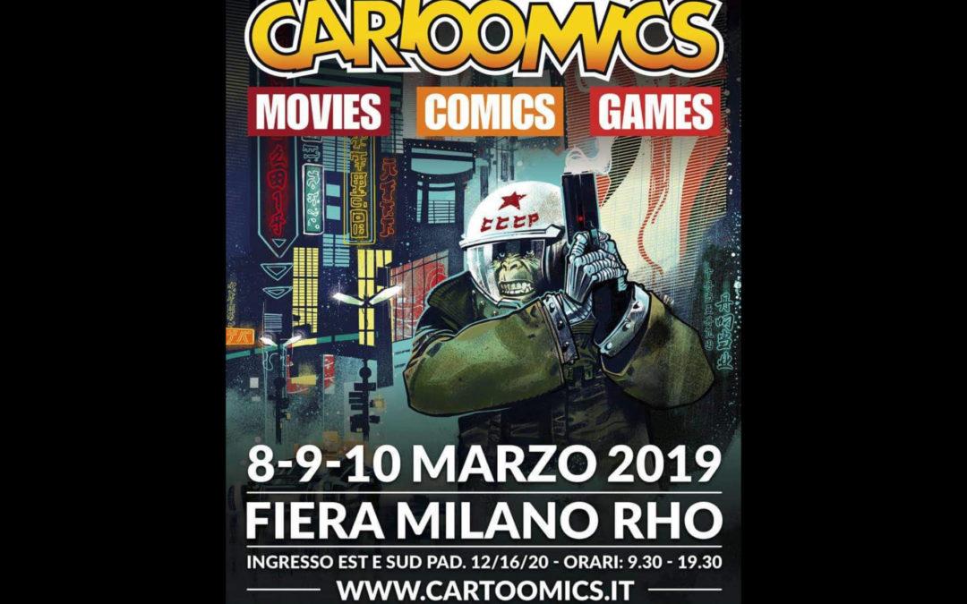 Andrea Piparo al CARTOOMICS 2019