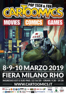Andrea piparo art illustratore fantasy cartoomics 2019