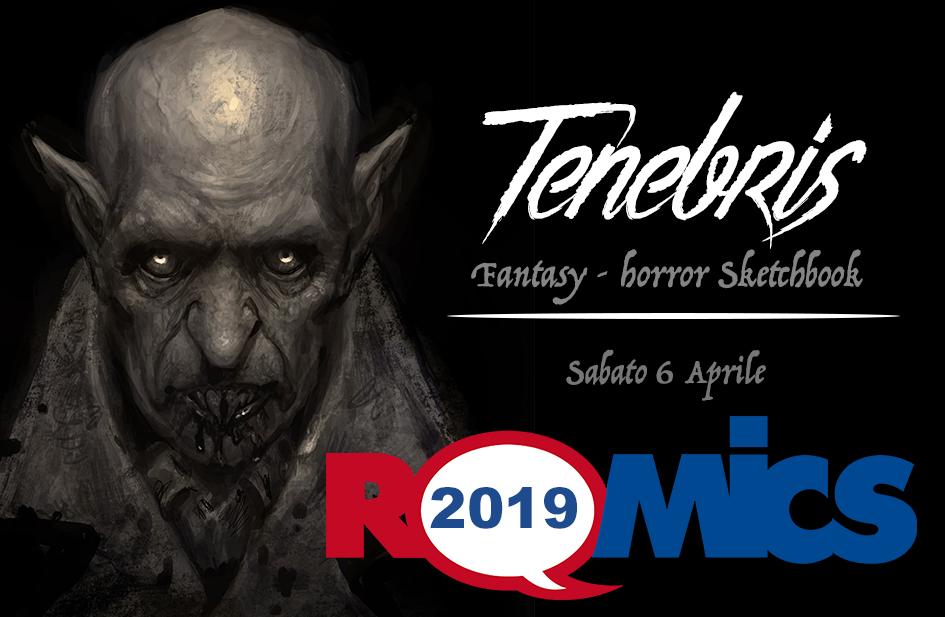 Andrea Piparo al ROMICS 2019