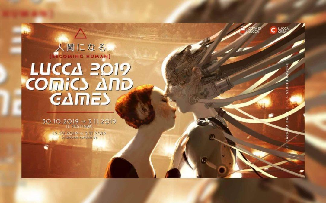 Andrea Piparo a LUCCA 2019