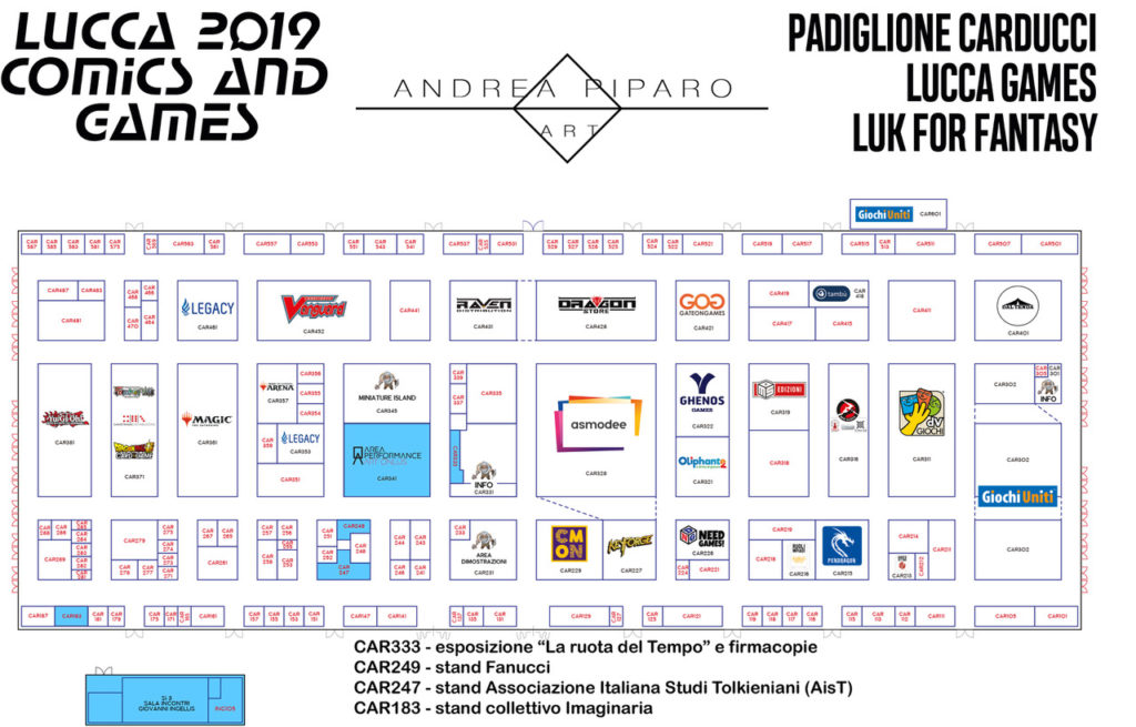 mappa lucca 2019