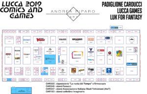 mappa carducci lucca 2019