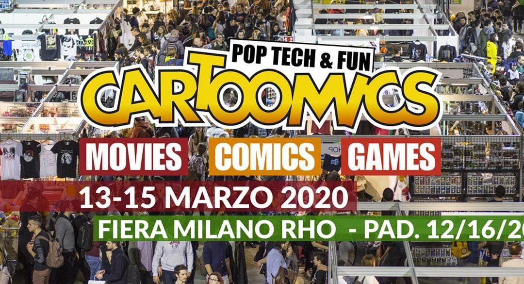 Andrea Piparo a CARTOOMICS 2020