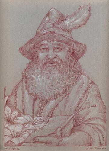Tom Bombadil- Il signore degli anelli disegno